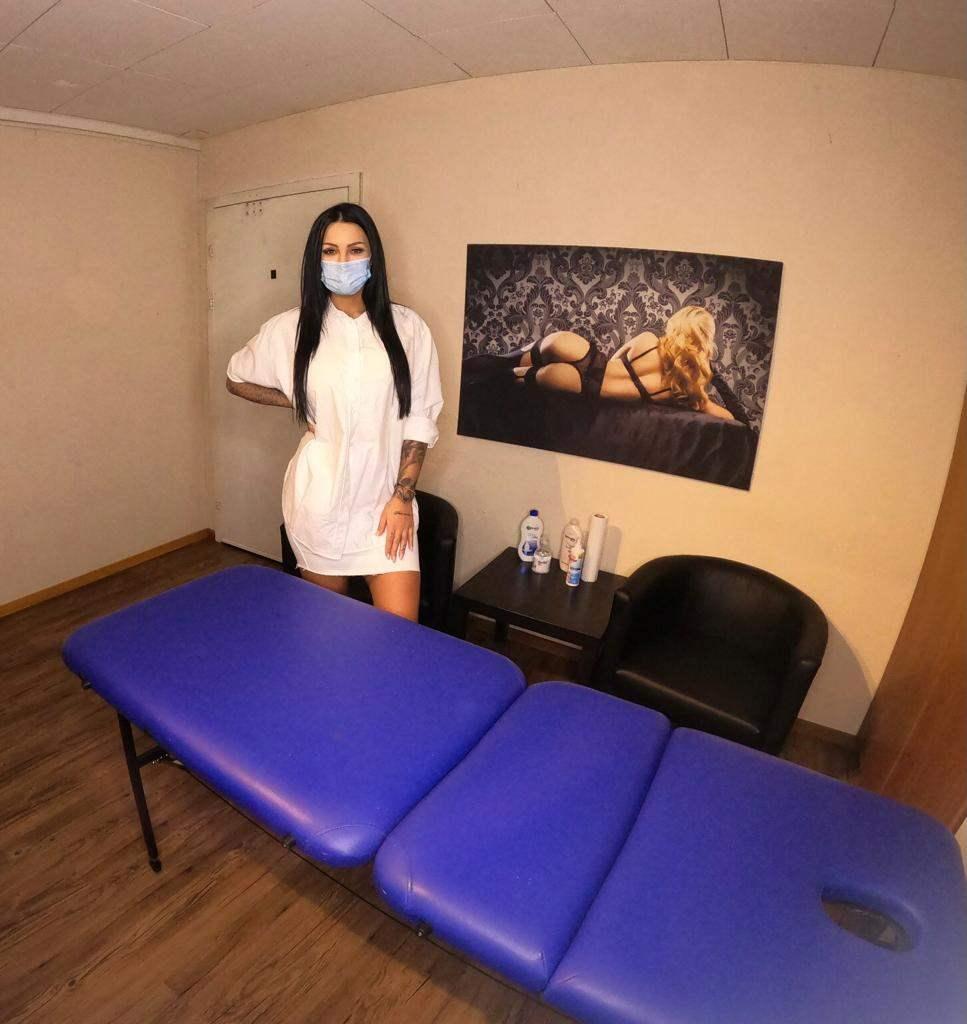 Alexandra tempramentvolle Massage Wellness Entspannung
